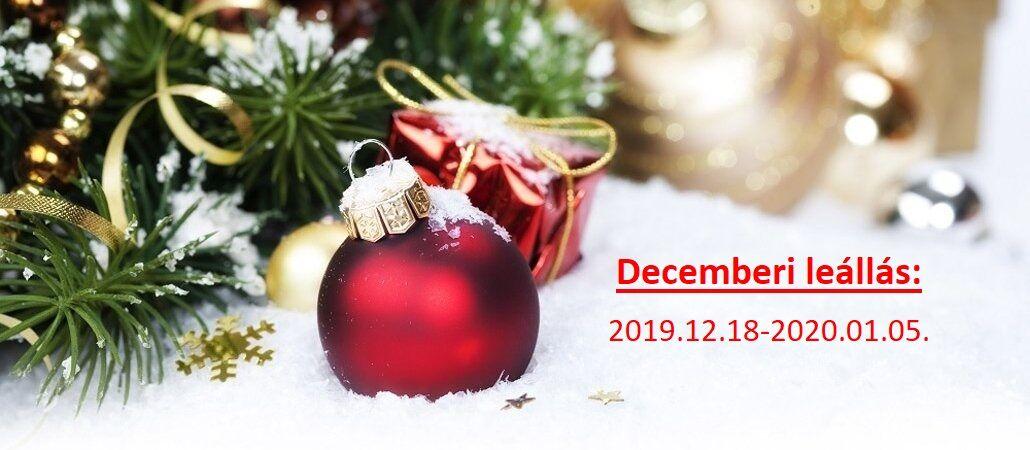 Decemberi leállás