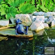 Ubbink Béka, ülő ca. 20,5 cm vízköpő figura
