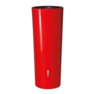 Color duplafunkciós esővízgyűjtőtartály, 350 l, piros