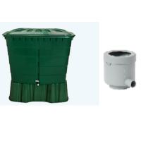 520 literes szögletes esővízgyűjtő tartály csomag
