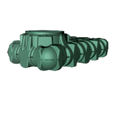 Li-Lo lapos esővízgyűjtő tartály, 5000 l