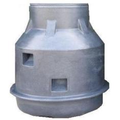Vízóraakna  DN 1000, fedlappal