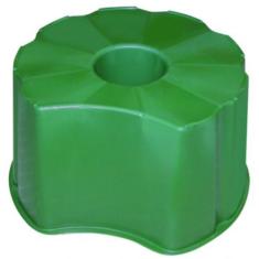 Talp, kerek 510 l-es esővízgyűjtő tartályhoz, zöld