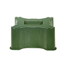 Talp, szögletes 300 l-es esővízgyűjtő tartályhoz, zöld
