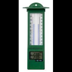 Hőmérő falra szerelhető, min-max