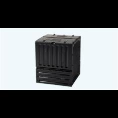 Komposztáló Eco-King 600 l, fekete