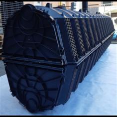 100 m2 tetőfelület esővízelszikkasztás csomag /Szikkasztó Alagút rendszerben/