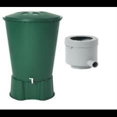 310 literes kerek esővízgyűjtő tartály csomag