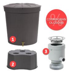 Lanzerote 300 literes esővízgyűjtő tartály csomag