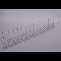 Madárriasztó acél tüske, párkányra 120 cm, 2db/doboz