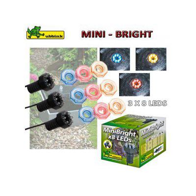 Világítás MiniBright 3x8 LED