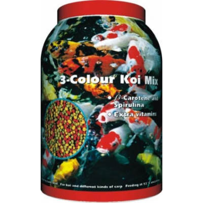 Hal eledel - 3-Colour Koi Mix 3000 ml