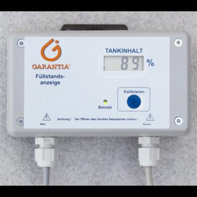 Töltésállapot kijelző (tartály vízszintmérő)