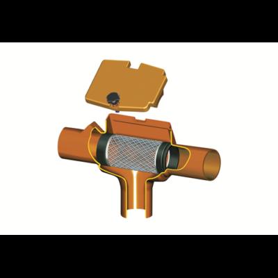 Supra-Filter, egyenes csővel