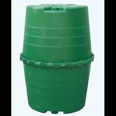 Top esővízgyűjtő tartály, 1300 l, sötétzöld