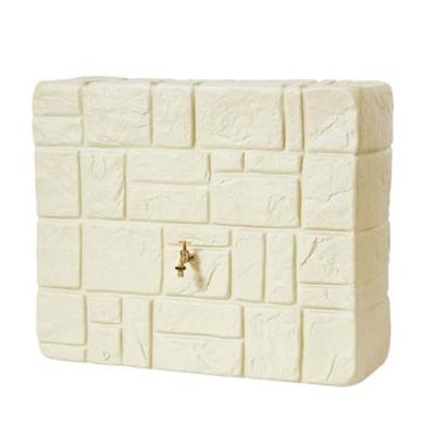 Mauer fali esővízgyűjtő tartály, 300 l, homokszínű