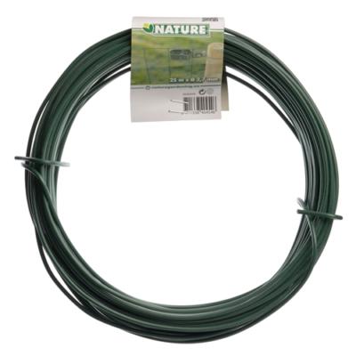 Kötöződrót zöld plastik bevonattal 25 m  2,7mm !