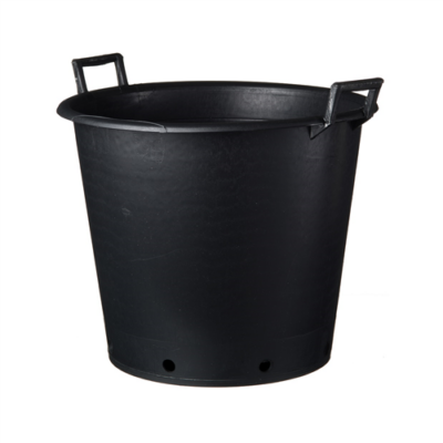 Ritzi konténer fekete 30 l  fogantyúval 36 x 32 cm