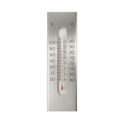 Hőmérő KELVIN 13 fali, aluminium 23 x 7 cm