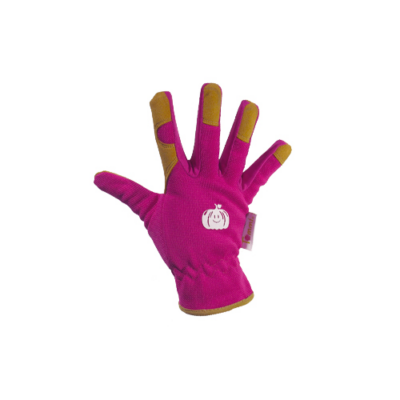 Tommi KÜRBIS kesztyű pink, bőr gyerek 5-8