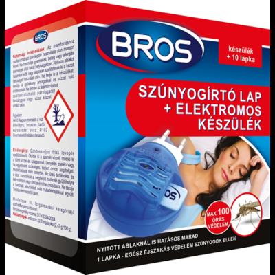 BROS szúnyogriasztó+10lapka