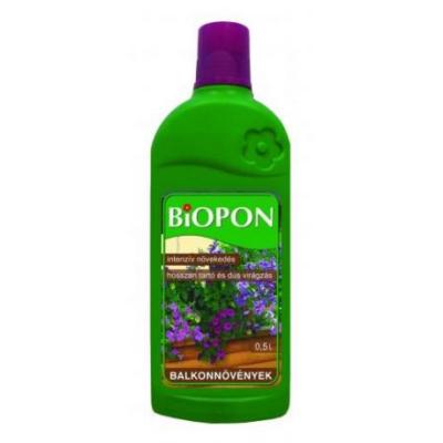 BIOPON balkonnövények tápoldat 500 ml