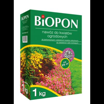 BIOPON kerti virágok granulált növénytáp 1 kg