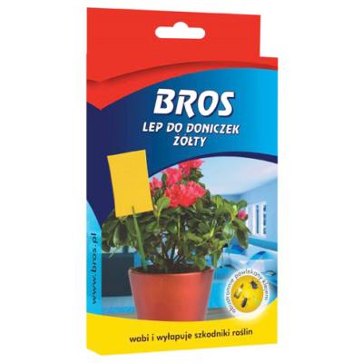 BROS légyfogó virágcserepekhez 10db