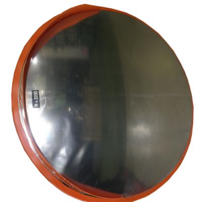 Tükör kültéri 600 mm, acél műanyag kerettel