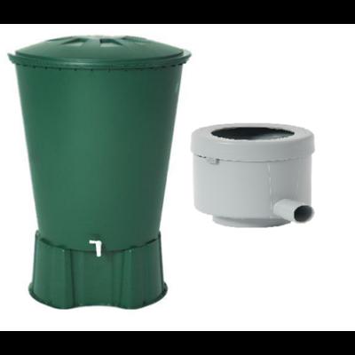 510 literes kerek esővízgyűjtő tartály csomag