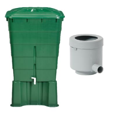 300 literes szögletes esővízgyűjtő tartály csomag
