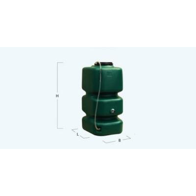 Garden esővízgyűjtőtartály, 750 l, zöld