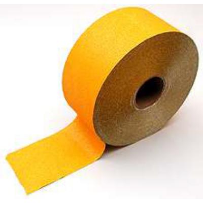 Útjelölő szalag ideiglenes 12 cm sárga (100 fm/tek.)