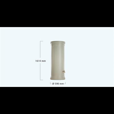 Oszlop esővízgyűjtőtartály, 330 l