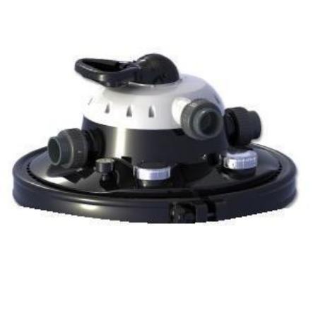 Szűrő alkatrész fedél, Clear Control nyomás alatti szűrőhöz 25,50,75