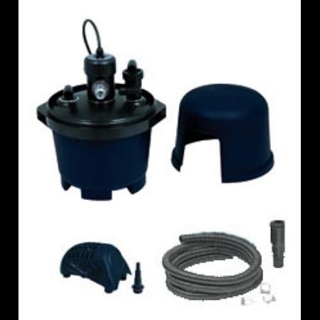 Nyomás alatti szűrő BioPressure 3000 szett / szűrő + Powermax 1200 FI pumpa + 5W UV-C algamentesítő