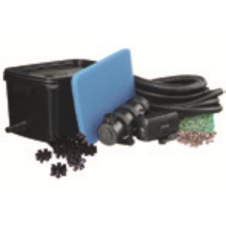 Gravitációs szűrő  FiltraPure 2000 szett, szűrő + Xtra 600 + 5 W UV-C algamentesítő