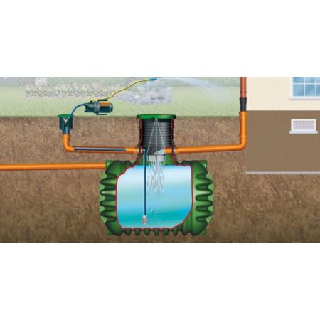 Columbus esővízgyűjtő tartály, 4500 l, Garten-Jet