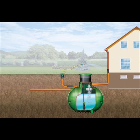 Columbus esővízgyűjtő tartály, 6500 l, Garten-Comfort