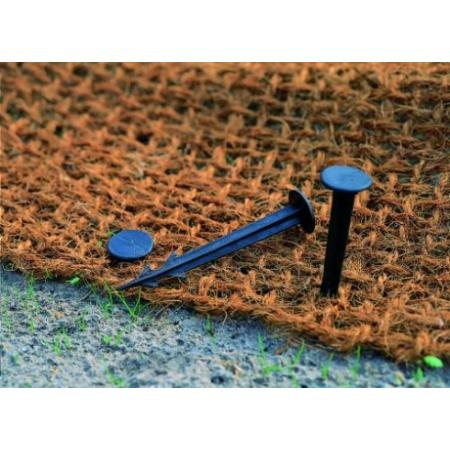 Rögzítő szegecs töltésgyékényhez, 11 cm (10db/csomag)
