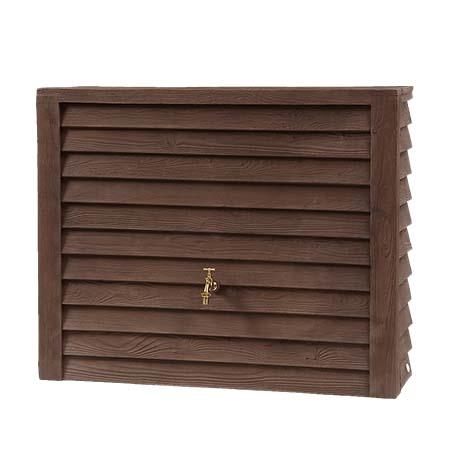 Woody fali esővízgyűjtő tartály, 350 l, sötét