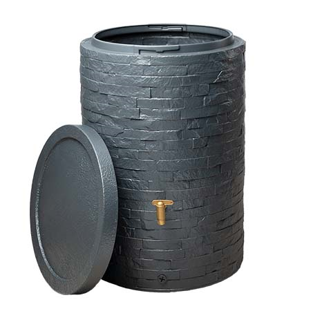 ARONDO esővízgyűjtő tartály 250 l, grafitszürke