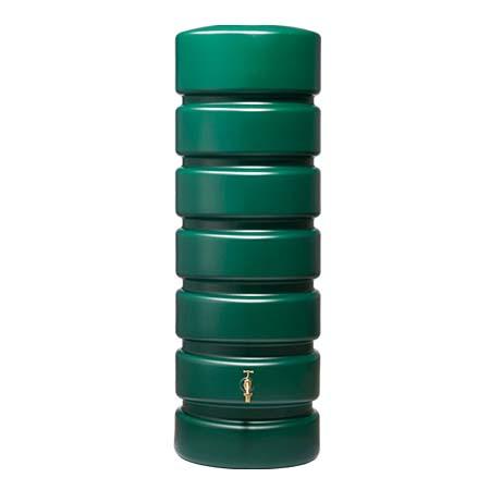 Classico fali esővízgyűjtő tartályszett  2600 l, zöld