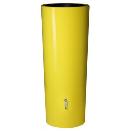 Color duplafunkciós esővízgyűjtő tartály, 350 l, citromsárga