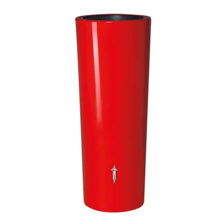 Color duplafunkciós esővízgyűjtő tartály, 350 l, piros