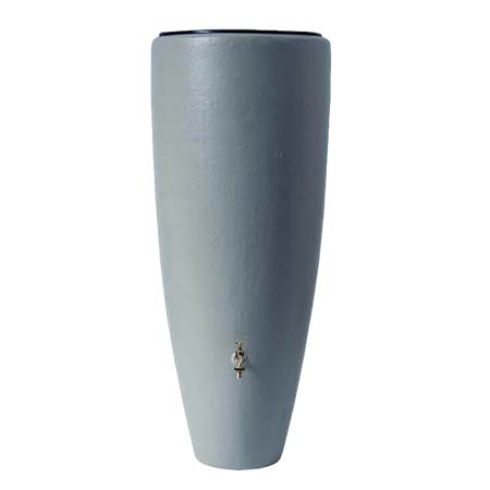 2in1 duplafunkciós esővíztartály, 300 l, cinkszürke