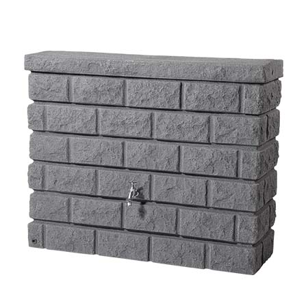 Rocky fali esővízgyűjtő tartály, 400 l, gránit