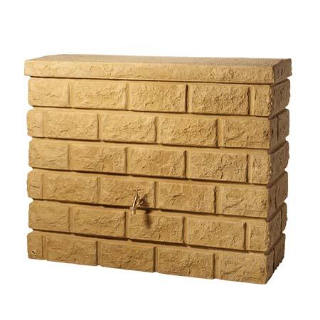 Rocky fali esővízgyűjtő tartály, 400 l, homokkő