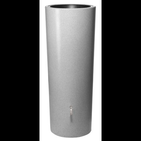 Stone duplafunkciós esővízgyűjtő tartály, 350 l, ezüst