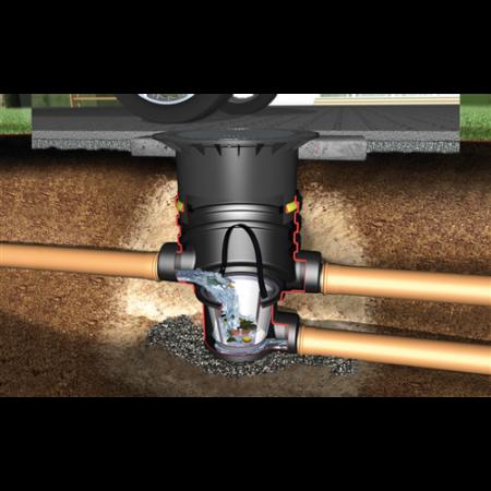 Szűrőakna Univerzális személygépkocsival járható tetővel